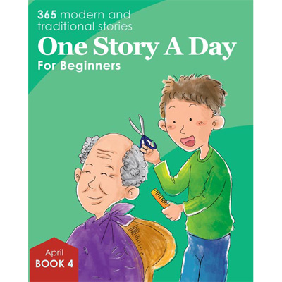One Story A Day for Beginners - Book 4