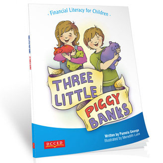 Three Little Piggy Banks