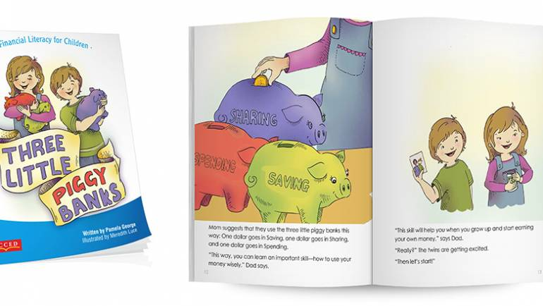 Praise for Three Little Piggy Banks, a Financial Literacy Story Book