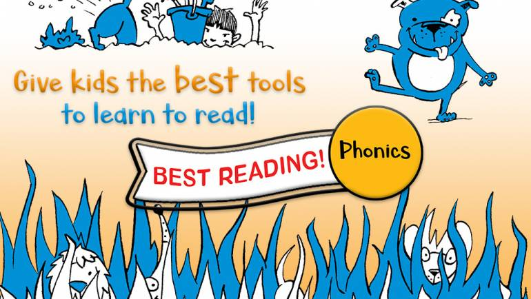 Teach Kids to Read with Best Reading! Phonics