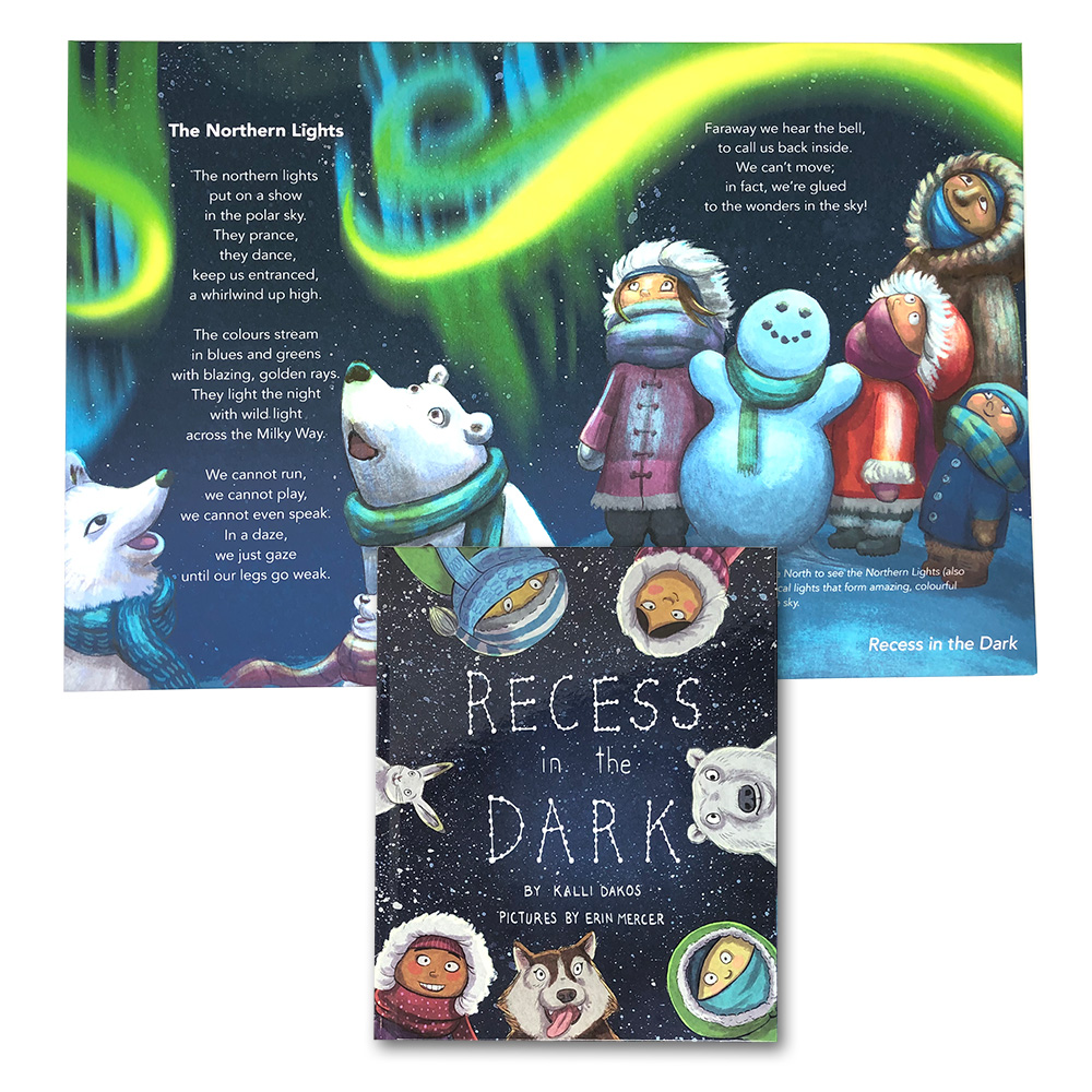 ProductImages_RecessInTheDark_Book&Canvas_TheNorthernLights