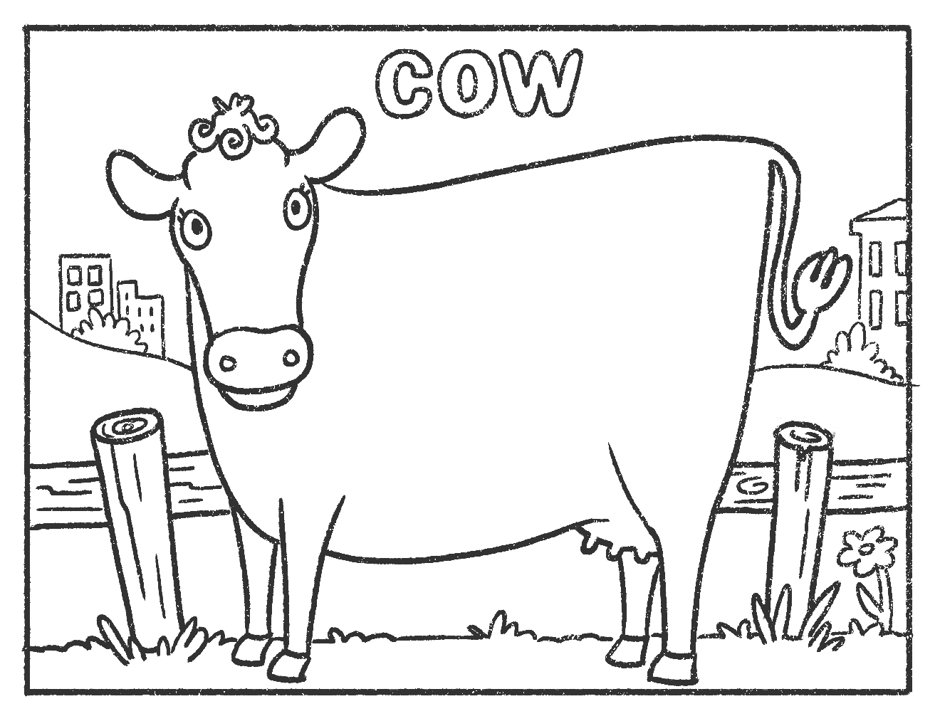 Cow_Colouring
